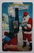 British Virgin Islands - GPT - BVI-18D - Father Christmas - 1993 - $10 - Used - Virgin Islands