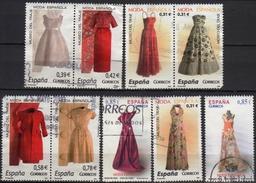 Spain 2007-2012  9  V Used   Spanish Fashion. Costume Museum