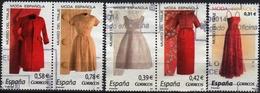 Spain 2007-2008  5  V Used   Spanish Fashion. Costume Museum