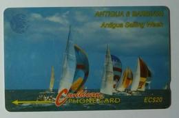 ANTIGUA & BARBUDA - GPT - $20 - 7CATB - Sailing Week - ANT-7B - Used