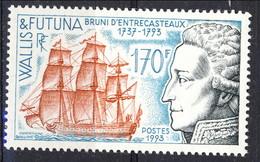 WF 1993 N. 4.53  Bruno D'Entrecasteaux MNH Cat. € 5.25 - Wallis E Futuna
