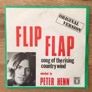 """7"""" Single, 45rpm, Peter Henn, A: """"Flip Flap"""", B: """"Song Of The Rising Wind"""" - Vinyl-Schallplatten"""