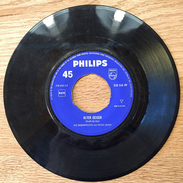 "7"" Single, 45rpm, Peter Lauch, Die Regenpfeifer, A: ""Der Rote Tango"", B: ""Alter Geiger"" - Vinyl-Schallplatten"