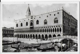 VENETO - VENEZIA - PALAZZO DEI DOGI - B/N ANNI '30 - ED. BROCCA - VENEZIA - NUOVA NV - Venezia
