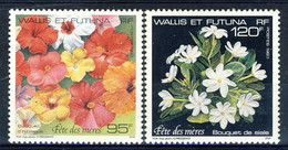 WF 1993 Serie N. 449-450 Fiori MNH Cat. € 6.15 - Wallis E Futuna