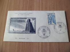 Pli Souvenir  Général De Gaulle  N° 1697 Portes Ouvertes Issoire Le 02/07/1972 Bir Hakeim Et FFL  EETAT    TB