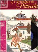 Fiabe Sonore Fabbri - PINOCCHIO N.9  Con Disco 45 Giri- Usato - Libri Parlati
