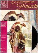 Fiabe Sonore Fabbri - PINOCCHIO N.8  Con Disco 45 Giri- Usato - Livres Parlés