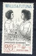 WF 1994 N. 466  Principesse Ouveniane MNH Cat. € 2.50 - Wallis E Futuna