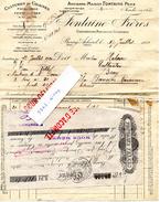 EURE BOURG-ACHARD Prés De FLANCOURT-CATELON BOUQUETOT BOSGOUET ROUGEMONTIERS HONGUEMARE-GUENOUVILLE - Historical Documents