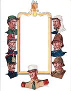 Militaria, Légion étrangère, Carte De Vœux 1967signée (2 Scans) - Army & War