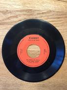 """Peer Mullens, Joke Raviera En De Vrolijke Trekkers, A: """"Candy Lexi Ik Ben Zo Sexy"""", B: """"Candy Heet In De Mond"""" - Vinyl-Schallplatten"""