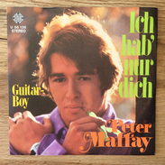 """7"""" Single, 45rpm, Peter Maffay, A: """"Ich Hab'nur Dich"""", B: """"Guitar Boy"""" - Vinyl Records"""
