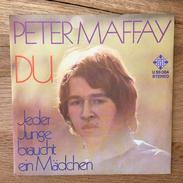 """7"""" Single, 45rpm, Peter Maffay, A: """"Du"""", B: """"Jeder Junge Braucht Ein Mädchen"""" - Vinyl-Schallplatten"""