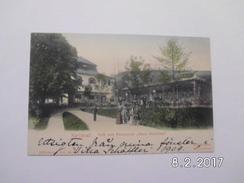 """Karlsbad. - Cafe Und Restaurant """"KleinVersailles"""" - República Checa"""