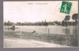 ROSNY . Le Passage Du Bac . - Rosny Sur Seine