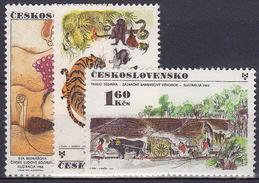 ** Tchécoslovaquie 1971 Mi 2029-31 (Yv 1867-9), (MNH)