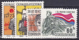 ** Tchécoslovaquie 1972 Mi 2054-7 (Yv 1898-1901), (MNH)