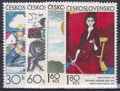 ** Tchécoslovaquie 1973 Mi 2117-20 (Yv 1962-5), (MNH)