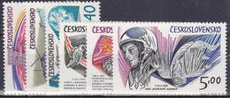 ** Tchécoslovaquie 1973 Mi 2132-7 (Yv 1977-82), (MNH)