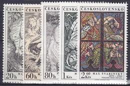 ** Tchécoslovaquie 1973 Mi 2160-4 (Yv 2005-9), (MNH)