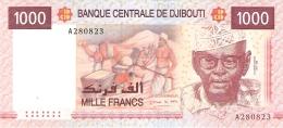 DJIBOUTI   1000 Francs   ND (2005)   P. 42a   UNC - Djibouti