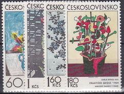 ** Tchécoslovaquie 1974 Mi 2185-8 (Yv 2036-9), (MNH)