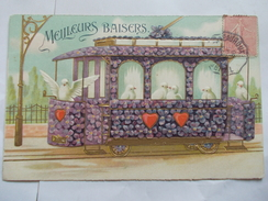 DIVERS - Meilleurs Baisers Carte En Relief - 1900-1949