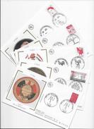 """Enveloppe FDC , Premier Jour  1992, 5 Enveloppes """"Bicentenaire De La Révolution Française"""" - FDC"""