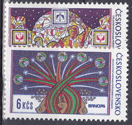 ** Tchécoslovaquie 1974 Mi 2209-10 (Yv 2054-5), (MNH)