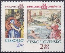 ** Tchécoslovaquie 1974 Mi 2214-5 (Yv 2059-60), (MNH)