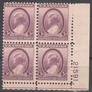 UNITED STATES      SCOTT NO. 784    MNH       YEAR  1936      PLATE BLOCK