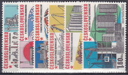 ** Tchécoslovaquie 1975 Mi 2285-90 (Yv 2128-33), (MNH)