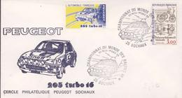 Championnat Du Monde Des Rallyes 1985 - Vignette 205 Turbo 16 - Sports
