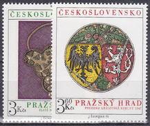 ** Tchécoslovaquie 1975 Mi 2291-2 (Yv 2136-7), (MNH)