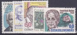** Tchécoslovaquie 1976 Mi 2300-4 (Yv 2144-8), (MNH)