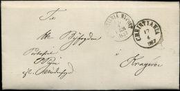 Norwegen/Norway Postgeschichte / Postal History  CHRISTIANIA / CHRISTIANIA BYPOST