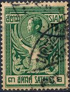 Stamp THAILAND,SIAM 1910 3s Used Lot#37 - Siam