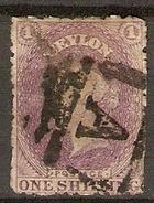 CEYLAN   -   1863 .  Y&T N° 41 Oblitéré. - Ceylon (...-1947)