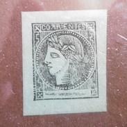 TIMBRE  ARGENTINE  CORRIENTES  1861.77  ( 3c )   VERT  1864 - Corrientes (1856-1880)