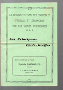 (Carpentras Vaucluse) Catalogue H RAYMOND (porte-greffes) 1927 (PPP4274) - Agriculture