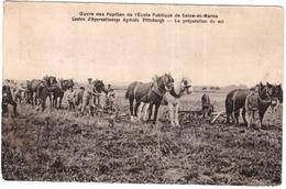 CPA.SEINE ET MARNE.OEUVRE DES PUPILLES DE L'ECOLE PUBLIQUE DE SEINE-et-MARNE.CENTRE D'APPRENTISSAGE AGRICOLE PITTSBURGH - Francia