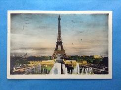 1951 Cartolina - Post Card - Francia Paris La Tour Eiffel - Parigi La Torre Eiffel - Tour Eiffel