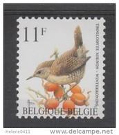 TIMBRE NEUF DE BELGIQUE - OISEAU DE BUZIN : TROGLODYTE MIGNON N° Y&T 2449