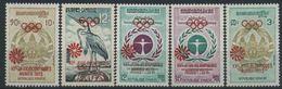 1972 Khmere, Giochi Olimpici Di Monaco Olimpiadi , Serie Completa Nuova (**) - Kampuchea