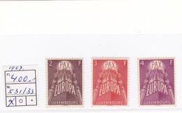 EUROPA LUXEMBOURG  1957  MNH**  COTE: 155 EUROS - Europa-CEPT