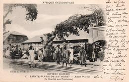 SAINTE MARIE DE BATHURST-le Marché Aux Provisions - Gambie