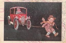 CARTOLINA VIAGGIATA 1937 - BIMBI  (PRESENZA DI ALCUNE PICCOLE PIEGHE) ED. GUARNIERI (VP275 - Gruppi Di Bambini & Famiglie
