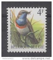 TIMBRE NEUF DE BELGIQUE - OISEAU DE BUZIN : GORGE-BLEUE N° Y&T 2321