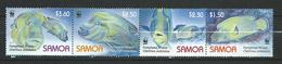 Samoa 2006 WWF - Fish. Humphead Wrasse.MNH - Samoa
